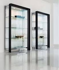Detolf Glass Door Cabinet White by Glass Curio Cabinets Ikea Roselawnlutheran