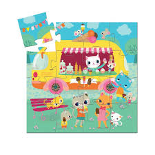 DJECO   Ice Cream Truck - 16 Piece Puzzle – SmartyPants Ice Cream Truck Clip Art Collection Vintage Colored Fresh Poster With Sweet Products Sundae Shopkins Scoops Playset Bourne Toys 12 Best Treats Ranked Design An Essential Guide Shutterstock Blog Cream Clipart Summer Graphics Truck Stand Cones Palagi Brothers Frozen Lemonade Ri Ma Ct Street Food And Fast 3d Vendor Template Spin Master Kinetic Sand Antique 1800s Delivery Phillipines Cart 223 Pieces 5 Years Ourkidseg How Coolhaus Ice Went From One Food To Millions In Sales