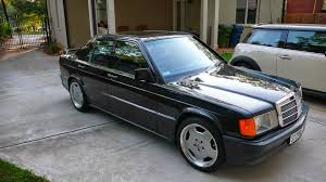 Mercedes Benz 190E 2 3 16 on AMG Monoblock s