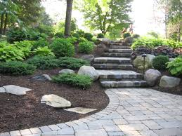 Steps And Plantings Up A Gradual Slope In A Shady Back Yard ... Courtyard On Pinterest Shade Garden Backyard Landscaping And 25 Unique Garden Ideas On Landscaping Spiring Shade Designs Best Plants For Shaded Beautiful Small Flower Bed Ideas Arafen Front Yard Stone Borders Landscape Design Without Grass Sunset Shady Backyard Landscapes Backyards And Rock Satuskaco Buckner Butler Tarkington Neighborhood Association Great Paths Amazing With Gravels Green