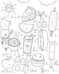 Summer Coloring Pages Free Fun Book Sheets For Toddlers Adults Full Size