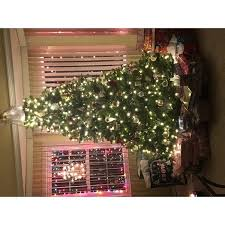 Christmas Tree 75 Ft by 7 5 Ft Powerconnect Dunhill Fir Tree With Dual Color Led Lights