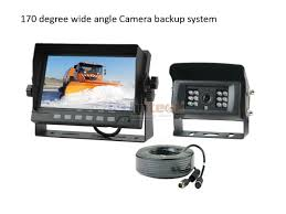 100 Backup Camera System For Trucks 7 AutoHeating Rear View System For Snow Removal Truck