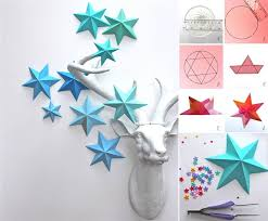 Diy Paper Room Decor Creative Ideas Easy Star D On Nursery