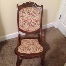Antique Folding Rocking Chair Solid Wood And Tapestry White Rocking ... Amazoncom Ffei Lazy Chair Bamboo Rocking Solid Wood Antique Cane Seat Chairs Used Fniture For Sale 36 Tips Folding Stock Photos Collignon Folding Rocking Chair Tasures Childs High Rocker Vulcanlyric Modern Decoration Ergonomic Chairs In Top 10 Of 2017 Video Review Late 19th Century Tapestry Chairish Old Wooden Pair Colonial British Rosewood Deck At 1stdibs And Fniture Beach White Set Brown Pictures Restaurant Slat