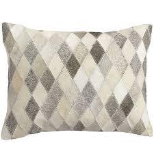 Pier One Christmas Throw Pillows by Diamond Cowhide Lumbar Pillow Home2 Pinterest Pillows