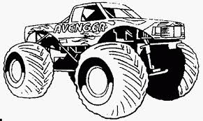 100 Monster Truck Coloring Book Pages Collection Free S Best