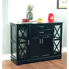 Dining Room Bar Buffet Locking Cabinet Table