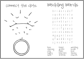 Wedding Coloring Pages Kids Archives At Free Printable