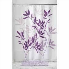 Pink And Purple Ruffle Curtains by Purple And Green Shower Curtains Abstract Pink Bathroom Awesome