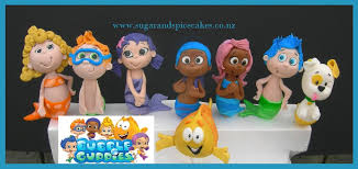 Bubble Guppies Cake Toppers by Cakes For Girls U2013 Sugar And Spice Celebration Cakes Auckland