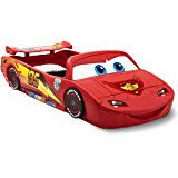 amazon com little tikes lightning mcqueen race car twin bed toys