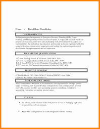 Resume Format For Computer Science Engineering Students Freshers Unique Projects Vatozozdevelopment