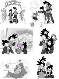 Vegeta And Goku Take Their Sons To The Zoo