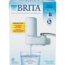 Brita Faucet Replacement Filter Chrome by Shop Brita Faucet Mount Carbon Block White Faucet Filter At Lowes Com