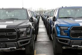 These American-made Ford Raptor Pickups Are Shipping Off To China ... Fords 1000 Pickup Truck Is A Luxury Apartment That Can Tow Heres Why Pimpedout New F450 Limited Pickup Truck Costs Trucks 2017 Ford F150 Price Trims Options Specs Photos Reviews Ranger Compact Returns For 20 Reveals Industrys First Police Pursuitrated As Launches Super Duty Recall Consumer Reports Drops Debuts 2016 Special Service Vehicle Or Pickups Pick The Best You Fordcom Is Stockpiling Its To Test Their