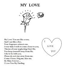 Sad I Love You Greeting Card Coloring Pages