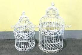 Shabby Chic Bird Cage This Is Hanging Cages Images Handicraft Painted White