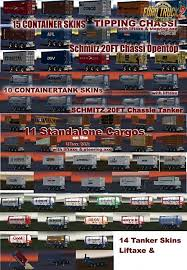 Schmitz 3axe 20ft Pack By SMG [1.27.x] | ETS2 Mods | Euro Truck ...