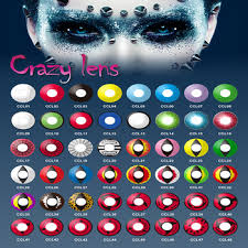 Cheap Prescription Colored Contacts Halloween by Colored Contact Lenses Freshtone Halloween Crazy Contact Lenses