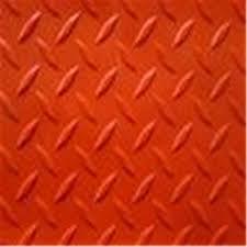 Floor Use Checkered Rubber Sheet Checker Plate