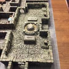 3d Dungeon Tiles Dwarven Forge by 5e Goblin Smash Caves Pathfinder Dwarven Forge Dungeons And