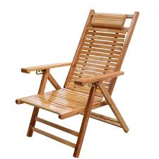 Amazon.com: Garden Lounger Wood, Folding Sunlounger Wooden ...
