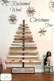 Reclaimed Wood Christmas Tree Going To Use My White Pallet