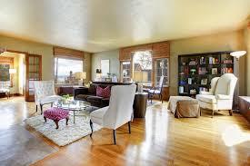 chic light wood living room flooring trends light colors