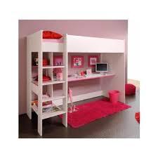 lit mezzanine avec bureau et rangement gloria lit mezzanine 90x200cm achat vente lit mezzanine