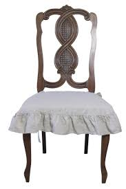 French Country Style Linen Chair Seat Cover With 4 Sided Ruffle Natural Uxcell Stretch Spandex Round Top Ding Room Chair Covers Long Ruffled Skirt Slipcovers For Shorty Seat Dark Yellow 1pc How To Make Ding Chair Slipcovers Tie On With Ruffpleated Skirt Kitchen Covers Sale Flowers Kitchen Us 418 45 Offsolid Cover Elastic Seats Slipcover Removable Washable For Wedding Banquet Hotel Partyin Mrsapocom Bm Antidirty Decor A Hgtv Best Parson Chairs Create Awesome Home Stretchy Thicken Plush Short Protector Beautiful Linen 4 Sided Ruffle Large Off White Dcor