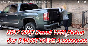 5 MUST HAVE Accessories For Your GMC Denali Sierra Pick Up! | Full ... 2017 Gmc Sierra Hard Tonneau Covers5 Best Rated Hard Covers 2013 Victory Red Used 3500hd Slt Z71 At Country Diesels Serving 2011 Headlights Ebay 2015 Chevy Silverado Truck Accsories 2014 V6 Delivers 24 Mpg Highway Dont Lower Your Tailgate Gm Details Aerodynamic Design Of Pickups 101 Busting Myths Aerodynamics Denali Ultimate The Pinnacle Premium 1500 Price Photos Reviews Features