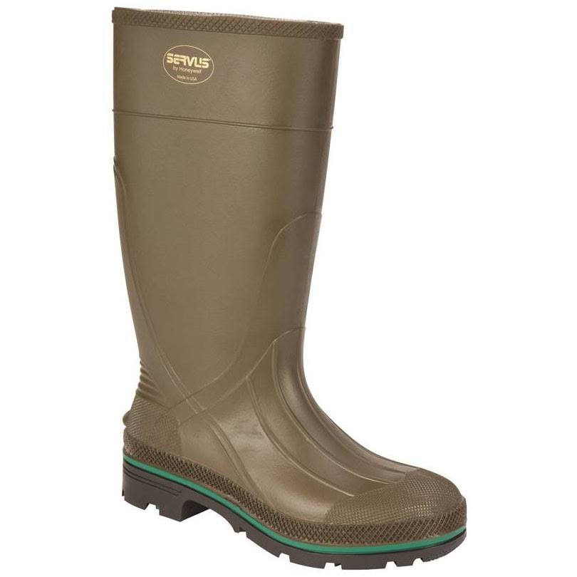 Norcross Safety Men's Hi Rubber Boots - Olive, 13 US