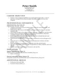 Secretary Resume Example With Legal Template 2239