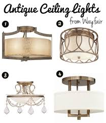 our castle seeking flush mount lighting options that aren t ugly