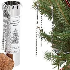 Christmas Tree Types Canada by Amazon Com Victorian Christmas Tree Tinsel Handmade Tin Icicles