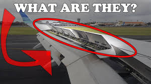 100 Parts Of A Plane Wing What Are Those Things On The Aircraft Wing