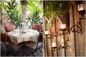 Backyard Reception Ideas Elegant Rustic Outdoor Wedding Idea Cocktail Hour