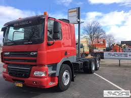 100 Truck Sleeper Cab DAF CF85410 NL Truck Manual Euro 5 Cab Chassis Trucks