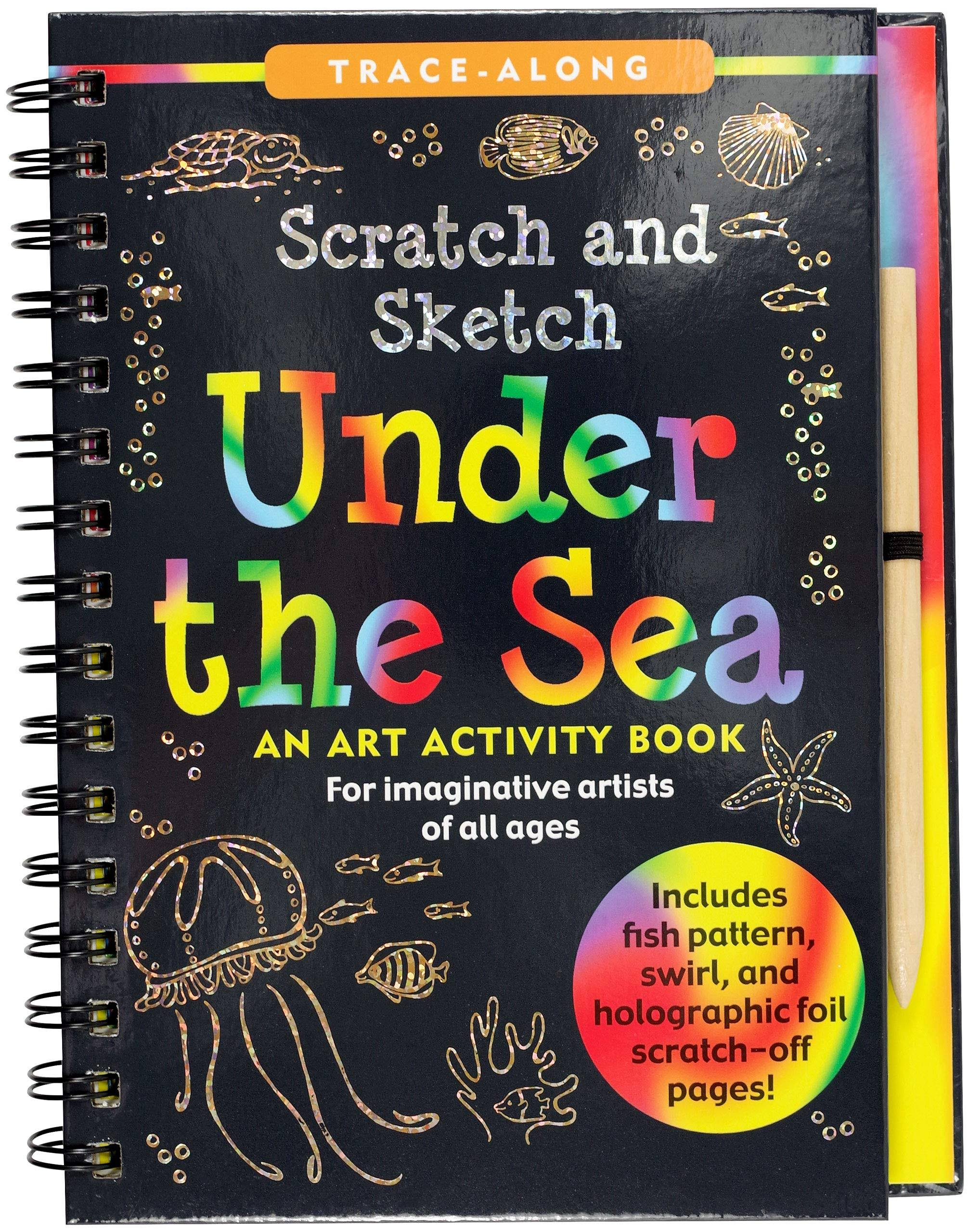 Scratch & Sketch Under the Sea: Trace Along [Book]