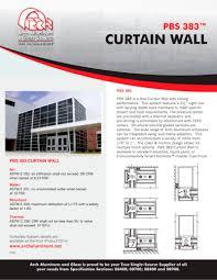 Ykk Ap Curtain Wall by Glazed Aluminum Curtain Wall Specifications Memsaheb Net