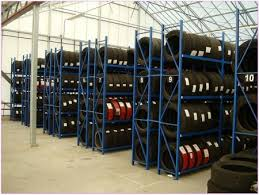 Motorcycle Tire Storage Racks