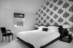 Red And Black Master Bedroom Fair White Interior Design