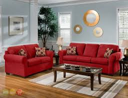 Living Room Set 1000 by Home Design Red Microfiber Convertible Living Room Set Vegas