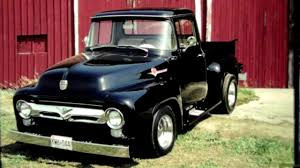 1956 Ford Pickup Truck - YouTube 1956 Ford F100 Panel Hot Rod Network Classic Cars For Sale Michigan Muscle Old Ford F800 Alto Ga 977261 Cmialucktradercom Pickup Allsteel Truck Sale Hrodhotline 2door Pickup Big Back Window Original V8 Fordomatic Big Window Truck Project 53545556 Rides Pinterest Trucks And Trucks Coe Accsories 4clt01o1956fordf100piuptruckcustomfrontbumper