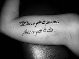 Quote By Kama Tattoo