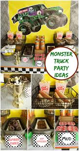 100 Monster Truck Decorations Birthday Party Ideas Moms Munchkins