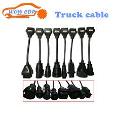 100 Pro Trucks Plus Truck Cables WOW CDP Diagnostic Tool Connect Cable 8 PCS