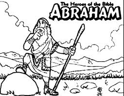 The Heroes Of Bible Abraham Coloring Pages Batch