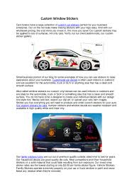 100 Custom Window Decals For Trucks Window Stickers